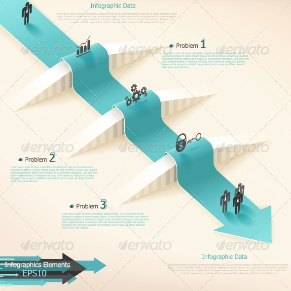 Modern Infographics Options Banner. - Web Technology