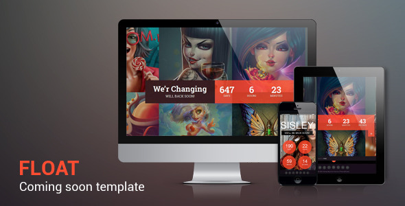 Float – Responsive Under Constraction Template