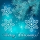 Vector Blue Christmas Holiday BackGround - GraphicRiver Item for Sale
