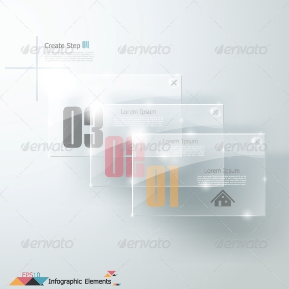 Modern Infographics Options Banner. - Abstract Conceptual