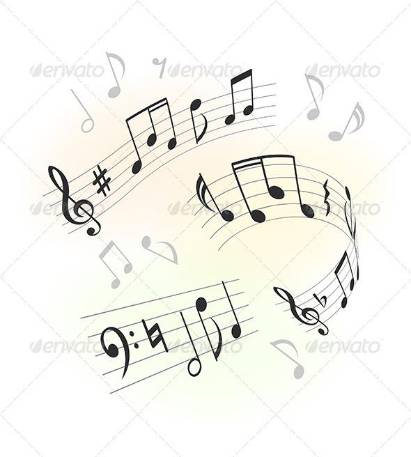 Music Design Elements - Decorative Vectors