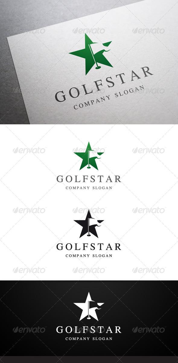 Golf Star Logo - Symbols Logo Templates