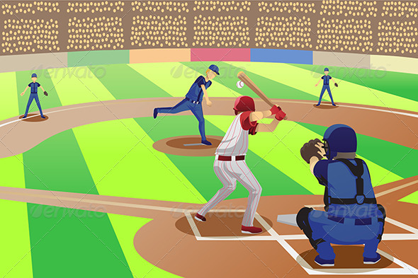 Cartoons Baseball Game - Play online at Y8.com