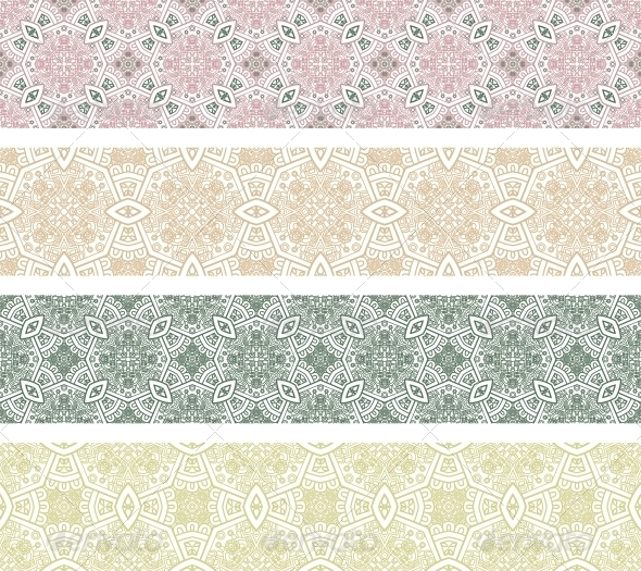 Ornamental Seamless Pattern - Patterns Decorative