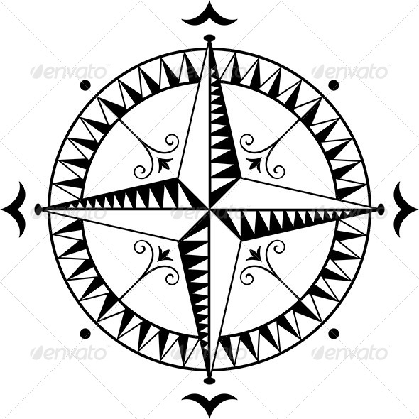 Wind Rose - Decorative Symbols Decorative