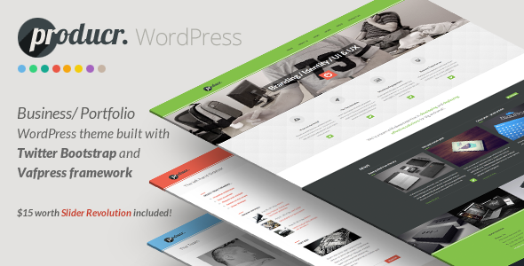 Producr - Business/Folio WordPress theme