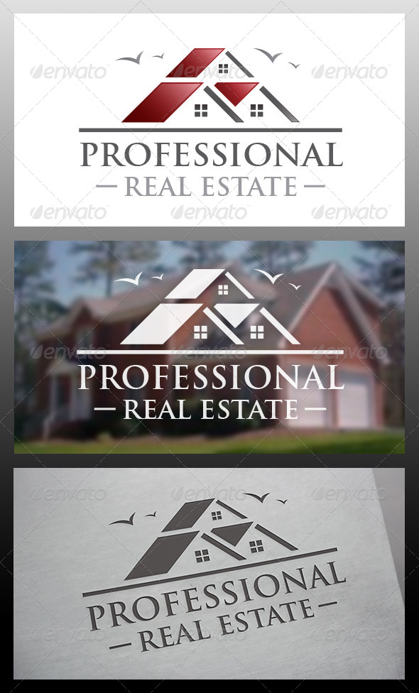 Property Logo Template - Buildings Logo Templates