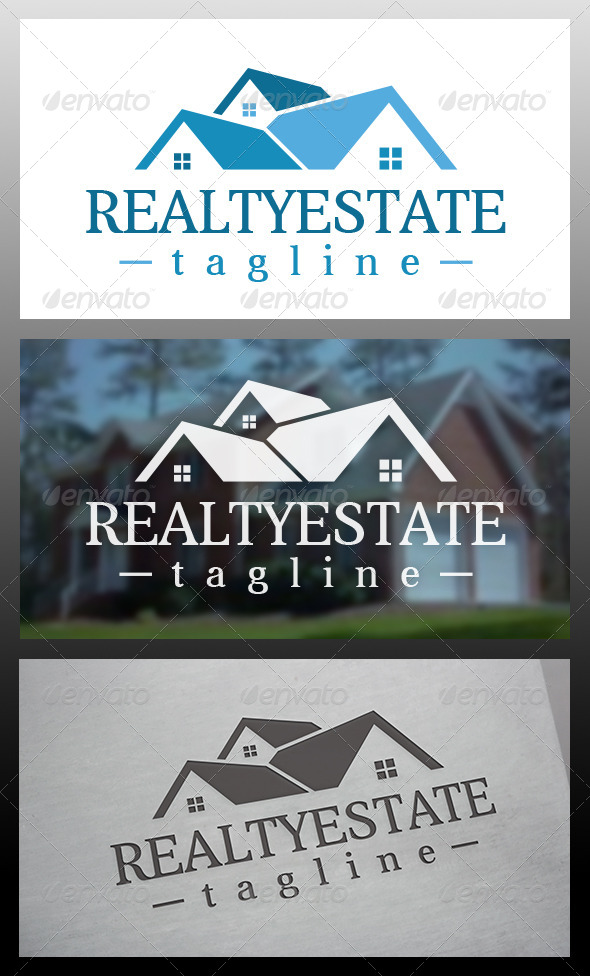 Realty Logo Template - Buildings Logo Templates