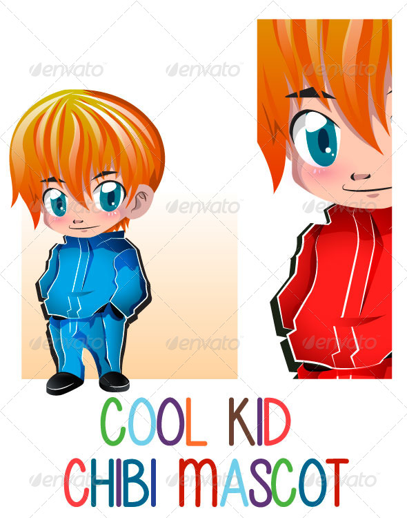 Cool Kid Chibby Mascot - Miscellaneous Characters