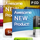 Product-Centered Web Banner Pack - GraphicRiver Item for Sale