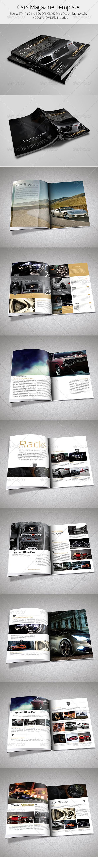 Cars Magazine Template - Magazines Print Templates