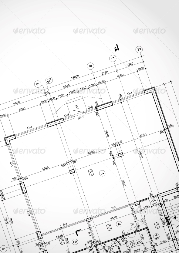 Architectural Background. - Buildings Objects