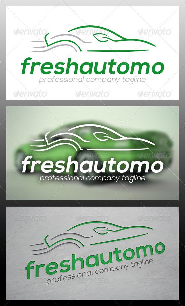 Fresh Car Logo Template - Objects Logo Templates