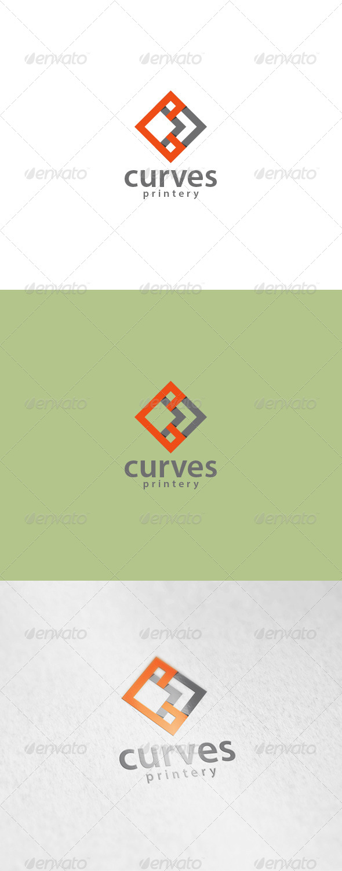 Curves Logo - Symbols Logo Templates