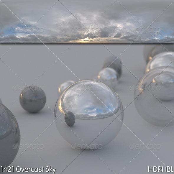 HDRI IBL 1421 Overcast Sky - 3DOcean Item for Sale