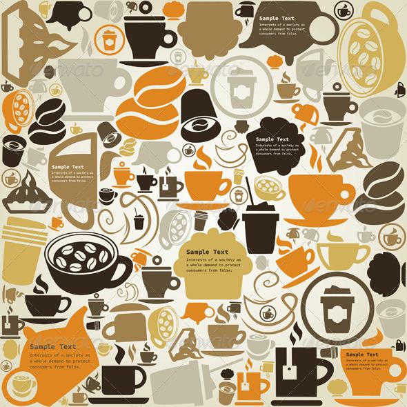 Coffee Graphic Designs