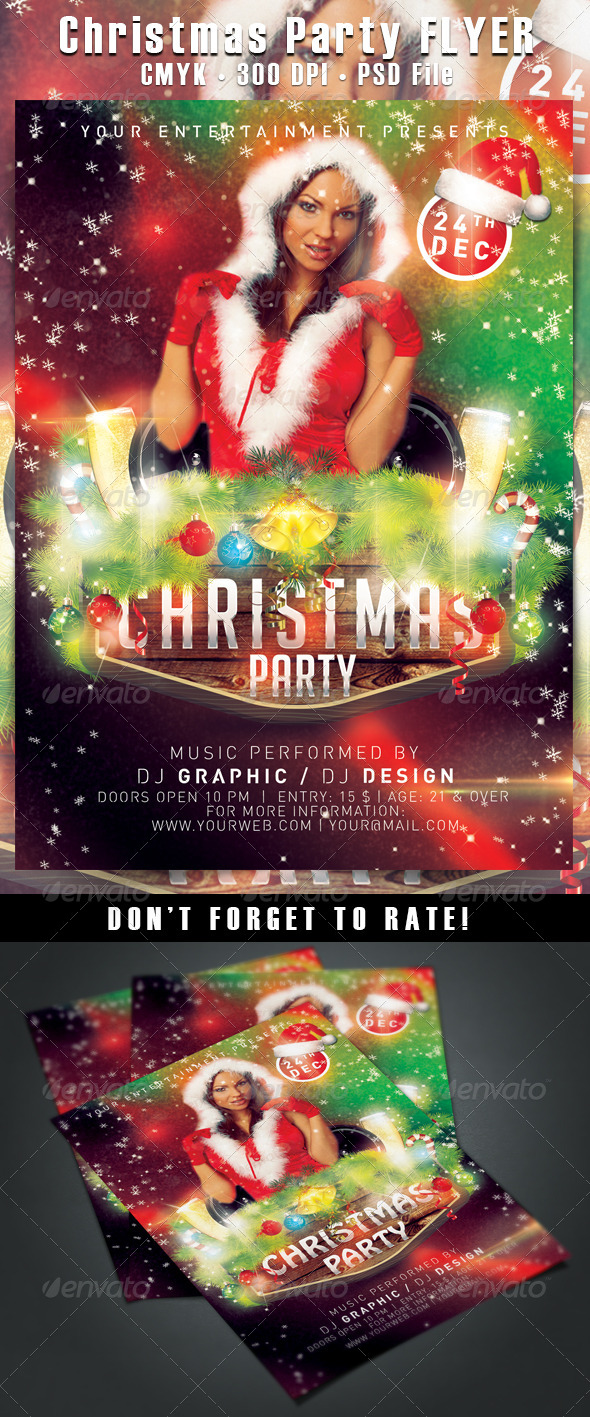 Christmas Party  - Clubs & Parties Events