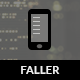 Faller Mobile | Mobile Template - ThemeForest Item for Sale