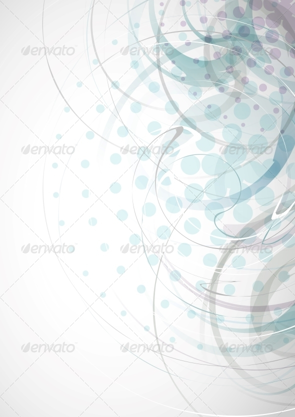 Abstract Light Blue Background - Abstract Conceptual