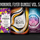 Minimal Flyer Bundle Vol.5 - GraphicRiver Item for Sale