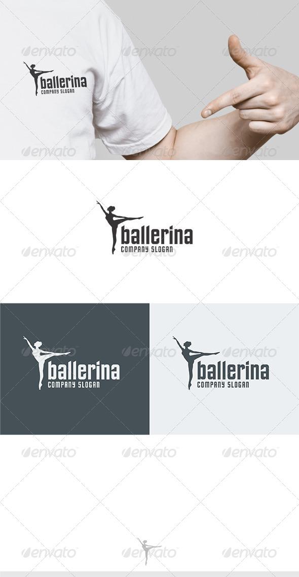 Ballerina Logo - Humans Logo Templates