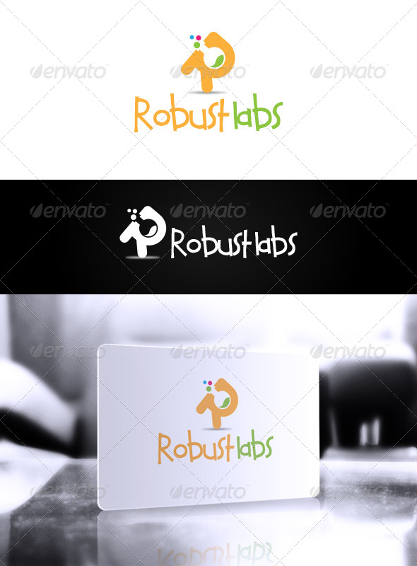 Robust Labs Logo - Letters Logo Templates