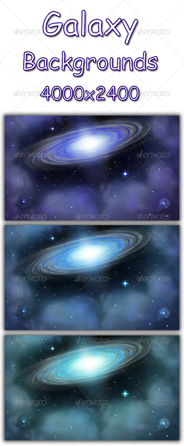Galaxy - Abstract Backgrounds