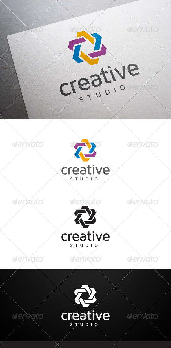 Creative Studio V3 Logo - Abstract Logo Templates