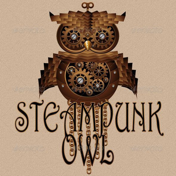 Steampunk Owl Style Mechanical Toy - Animals Characters