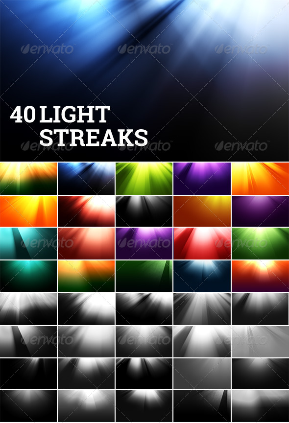Light Streak Backgrounds - Miscellaneous Backgrounds