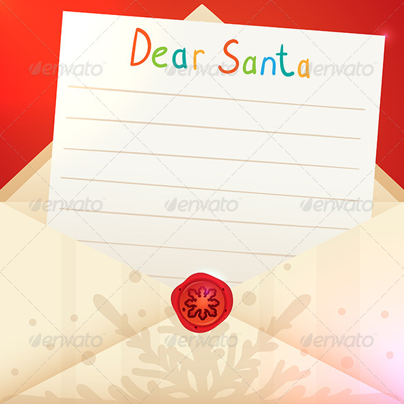 Christmas Letter to Santa Claus - Christmas Seasons/Holidays