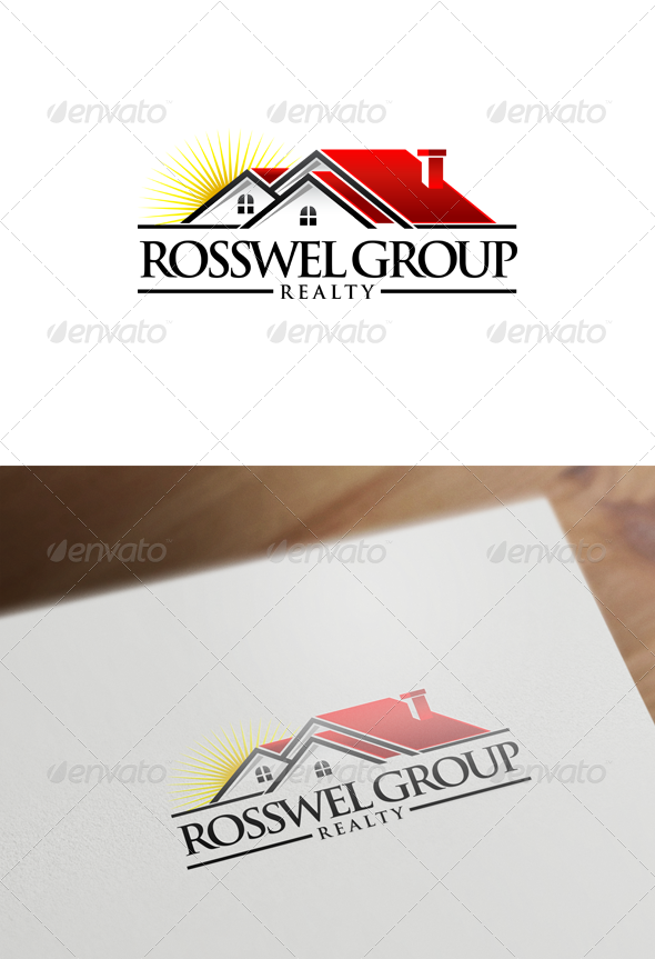 Real Estate Logo Design - Buildings Logo Templates