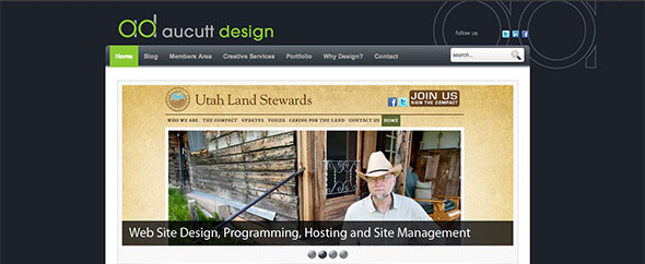Ad home page