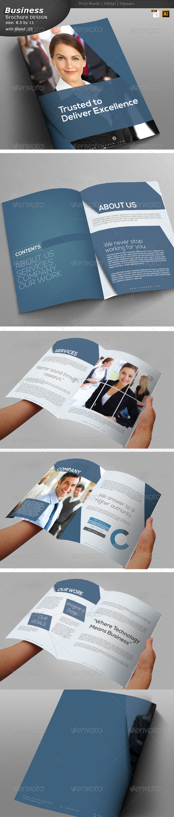 Marketing Brochure Design  - Corporate Brochures