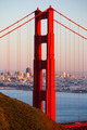 Golden Gate View At Dusk - PhotoDune Item for Sale