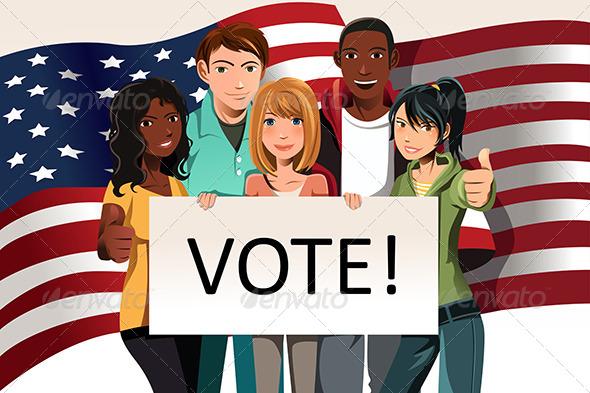 Voting People - Conceptual Vectors