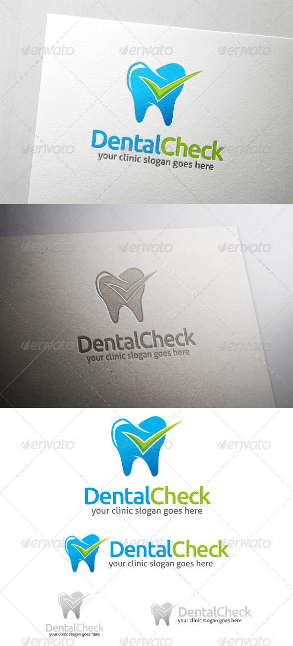 Dental Check Logo - Humans Logo Templates