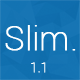 Slim - Responsive & Minimal Coming Soon Page Nulled