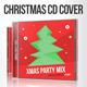 Xmas Party Mix CD Cover Artwork - GraphicRiver Item for Sale