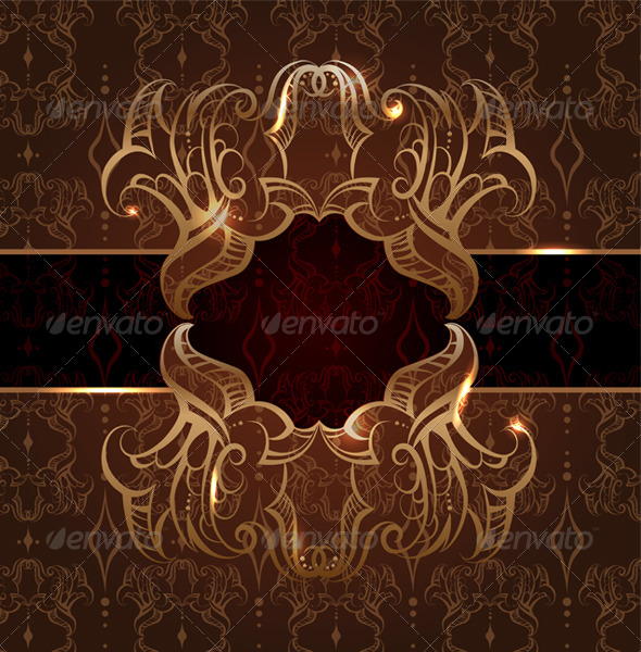 Invitation Card - Backgrounds Decorative