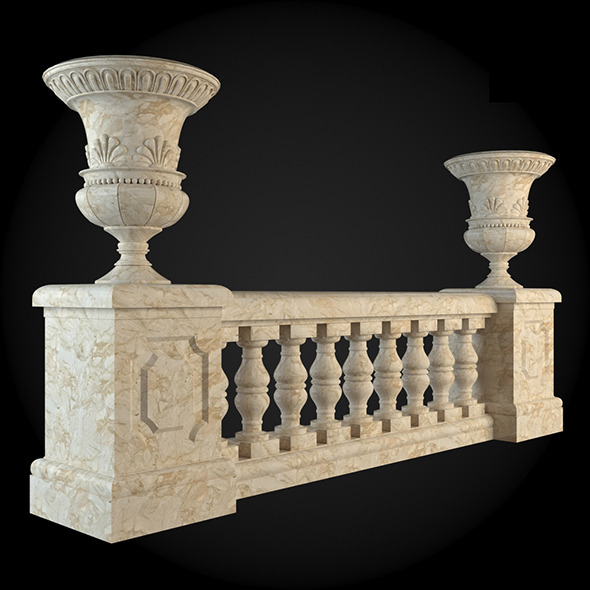 002_Baluster - 3DOcean Item for Sale