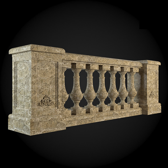 004_Baluster - 3DOcean Item for Sale