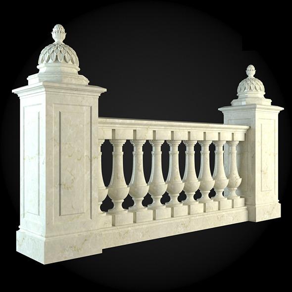 005_Baluster - 3DOcean Item for Sale