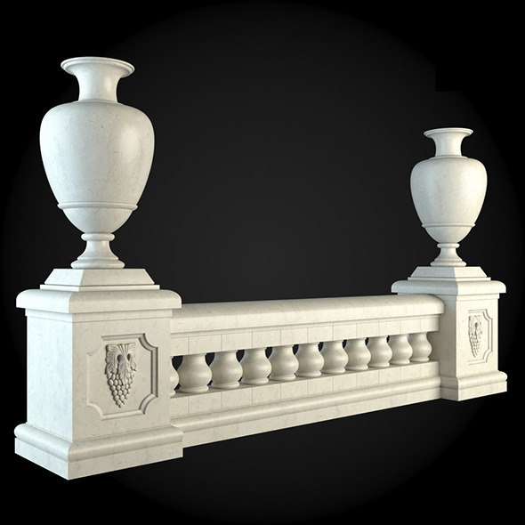 006_Baluster - 3DOcean Item for Sale