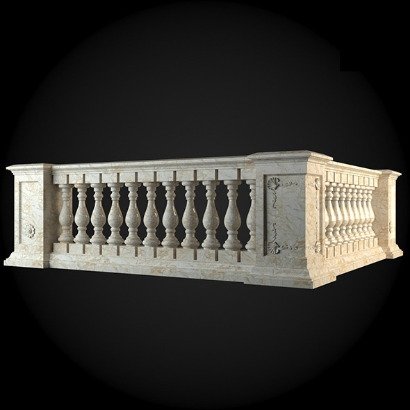 007_Baluster - 3DOcean Item for Sale