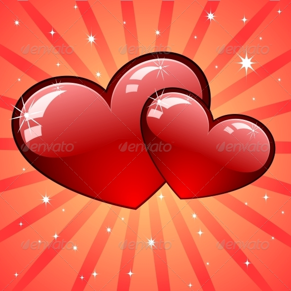 Heart Background - Decorative Symbols Decorative