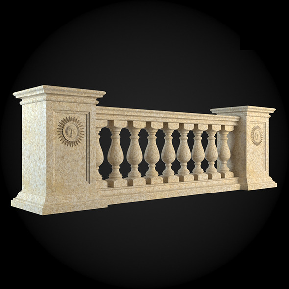 008_Baluster - 3DOcean Item for Sale