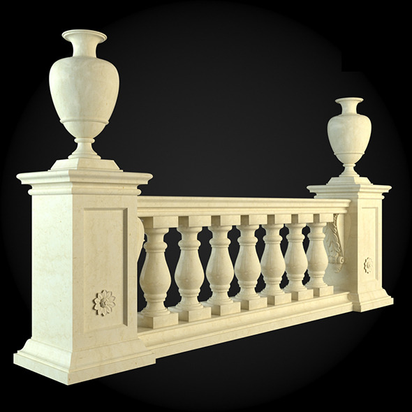 009_Baluster - 3DOcean Item for Sale