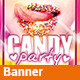 Candy Party v1.0 - Banner Facebook - GraphicRiver Item for Sale