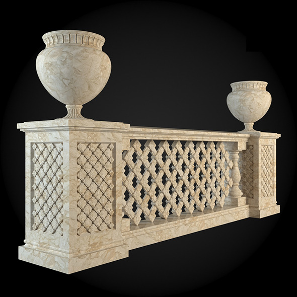 012_Baluster - 3DOcean Item for Sale